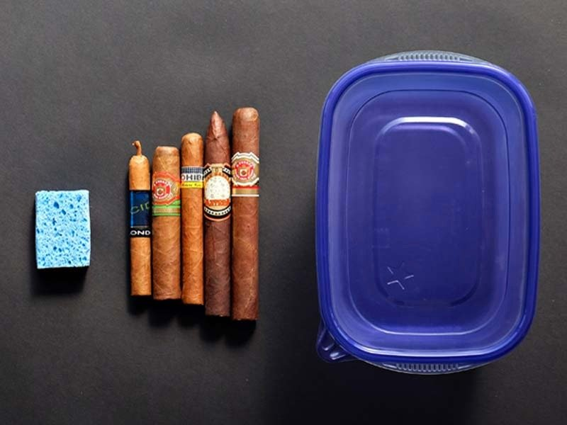 Storing Your Cigars without a Humidor